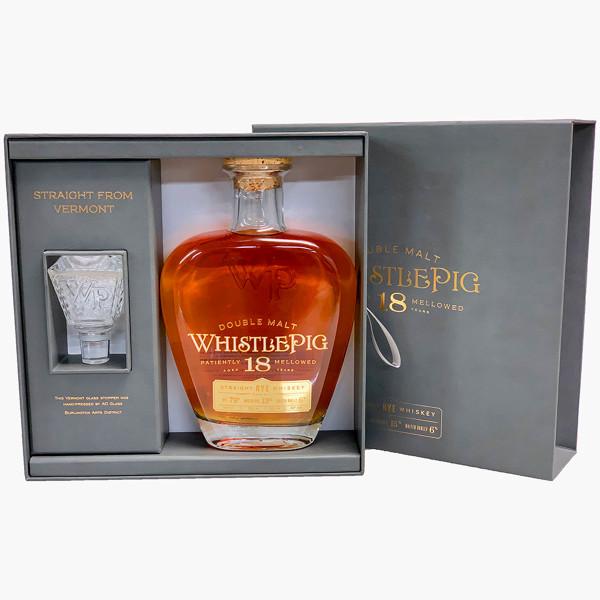 WhistlePig Double Malt 18 Year Rye Whiskey