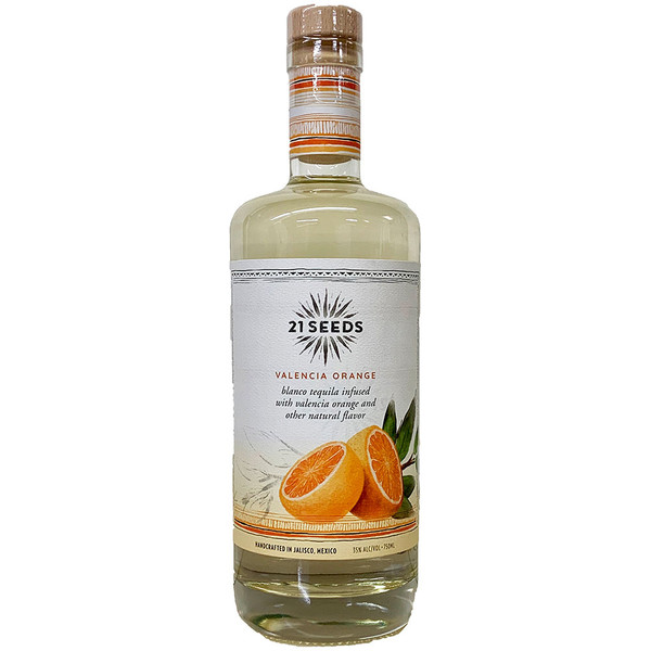 21 Seeds Valencia Orange Infused Tequila