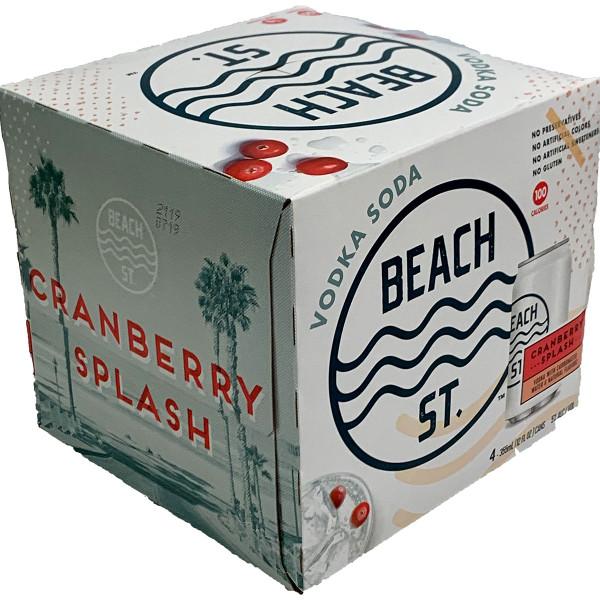 Beach St. Vodka Soda Cranberry Splash