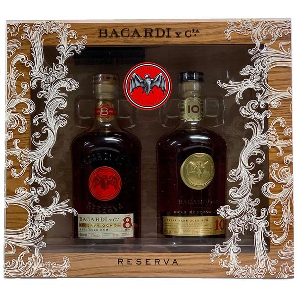 Bacardi Humidor Gift Pack