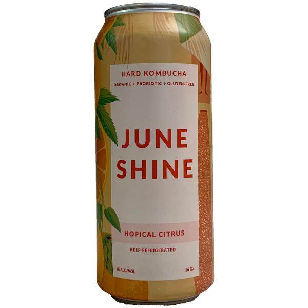 JuneShine Hopical Citrus Kombucha 4-Pack Can