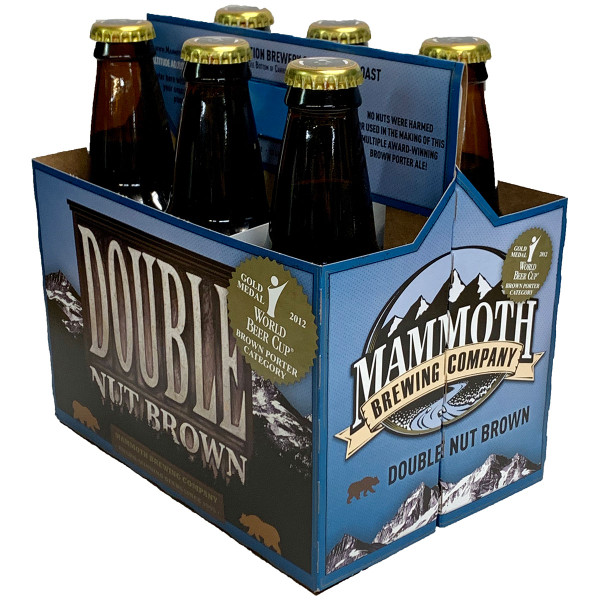 Mammoth Double Nut Brown Porter 6-Pack