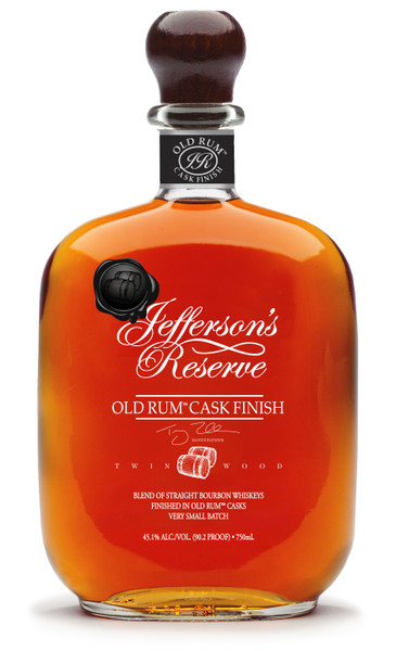 Jefferson's Old Rum Cask Finish Bourbon Whiskey