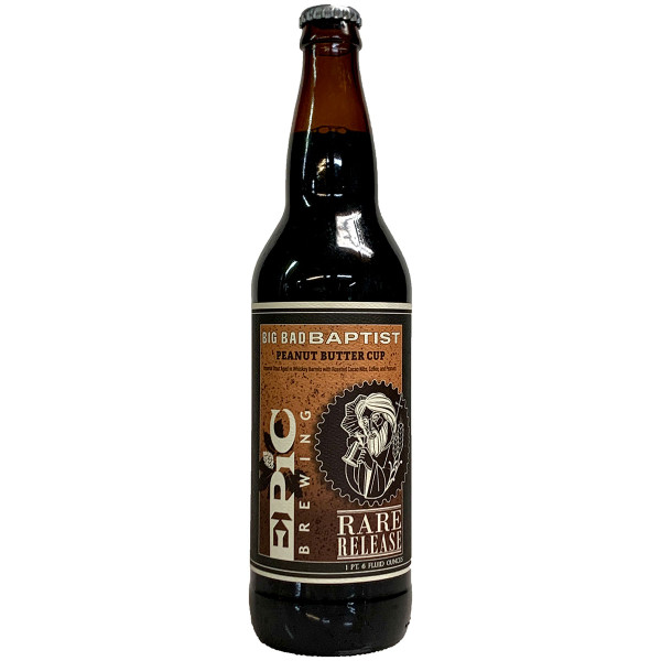 Epic Brewing Big Bad Baptist Peanut Butter Cup Imperial Stout