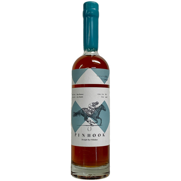 Pinhook Rye Humor 4 Year Cask Strength Kentucky Straight Bourbon Whiskey Crop '18