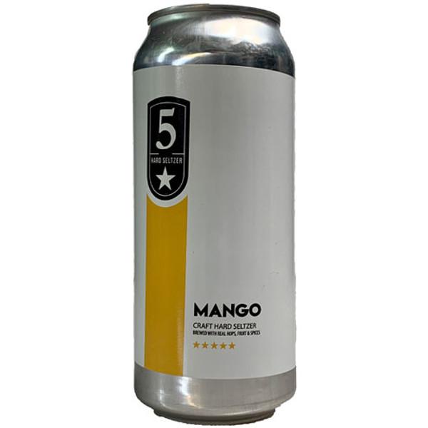 5 Star Hard Seltzer Mango