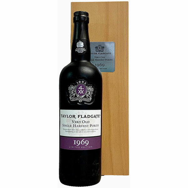 Taylor Fladgate 1969 Very Old Single Harvest Tawny Porto | 93 POINTS