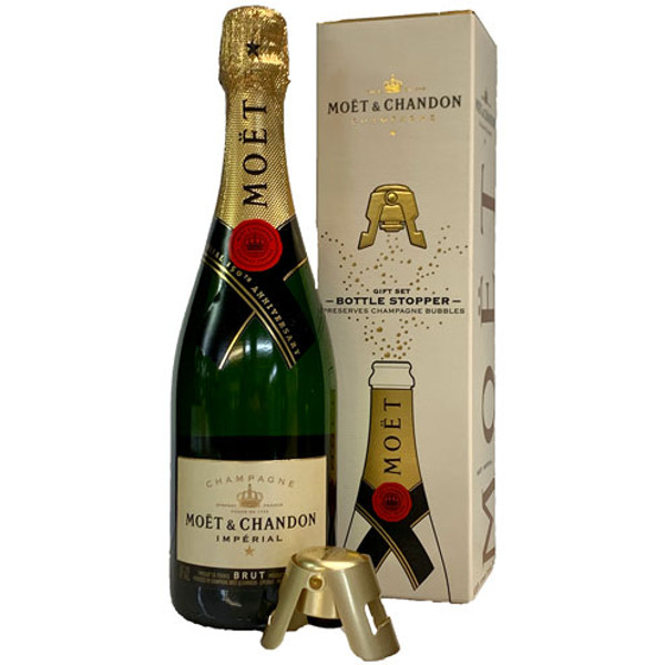 Moet & Chandon Brut Imperial w/ Stopper Gift Box | 91 POINTS