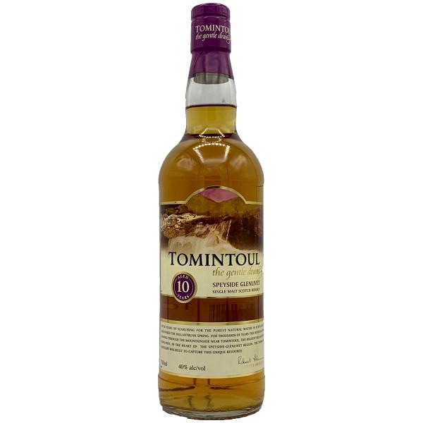 Tomintoul Single Malt 10 Year Scotch Whisky