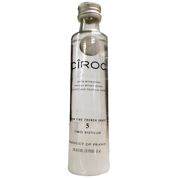 Ciroc Coconut Flavored Vodka 50ML