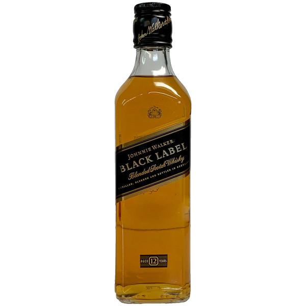 Johnnie Walker Black Label Blended Scotch Whisky 375ML