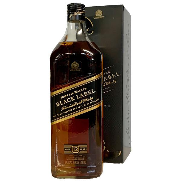 Johnnie Walker Black Label Blended Scotch Whisky 1.75L