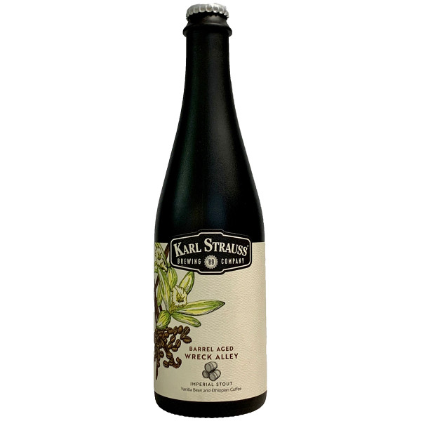 Karl Strauss Barrel Aged Wrecked Alley Imperial Stout
