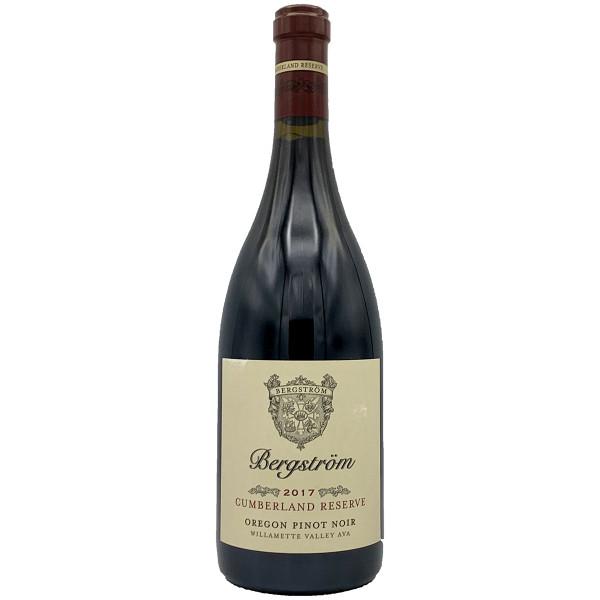Bergstrom 2017 Cumberland Reserve Pinot Noir   91 POINTS