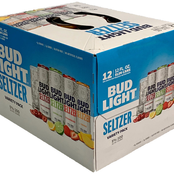 Bud Light Hard Seltzer Variety 12-Pack Can