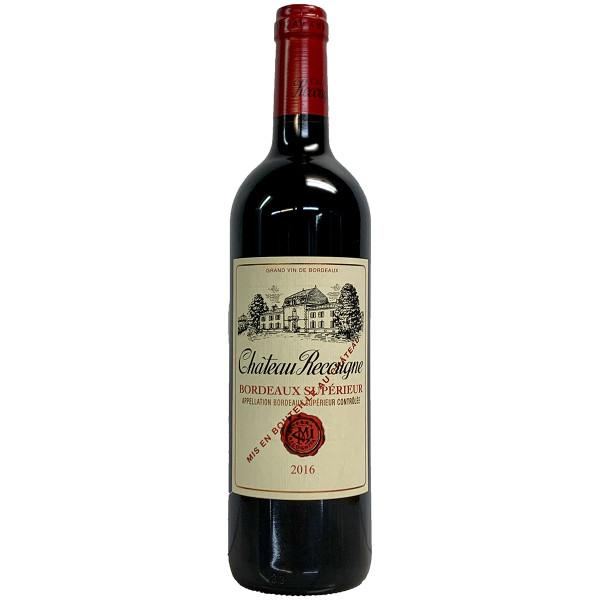 Chateau Recougne 2016 Bordeaux Superieur