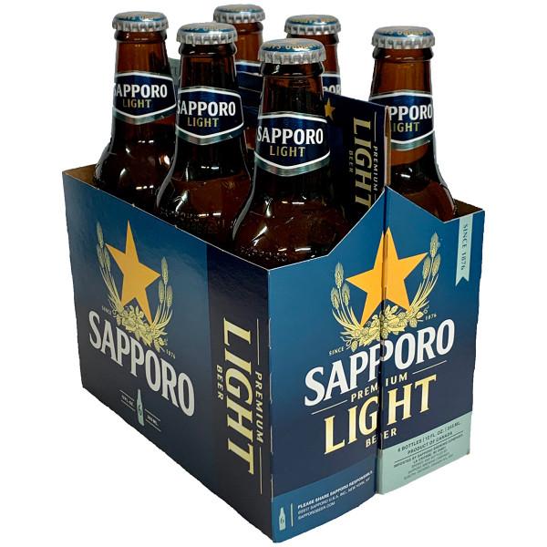 Sapporo Light 6-Pack