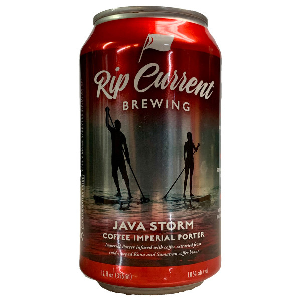 Rip Current Java Storm Imperial Coffee Porter Can