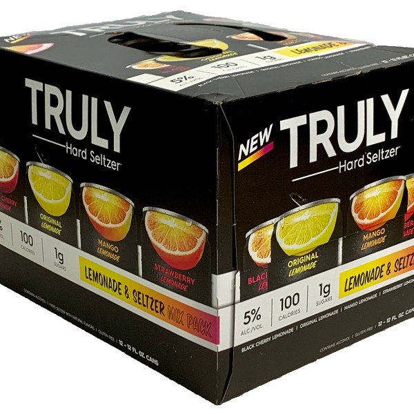 Truly Hard Seltzer Lemonade & Seltzer Mix Pack 12-Pack Can