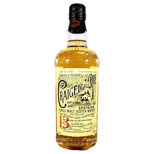 Craigellachie 13 Year Speyside Single Malt Scotch Whisky