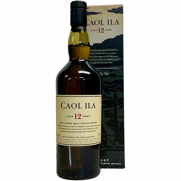 Caol Ila 12 Year Islay Single Malt Scotch Whisky