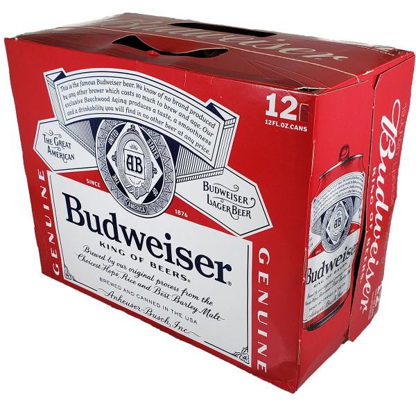 Budweiser 12-Pack Can