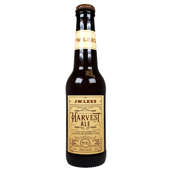 J.W. Lees Harvest Ale Matured in Lagavulin Whisky Casks 2017