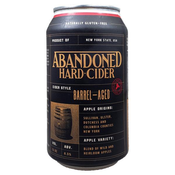 Abandoned Barrel-Aged Hard Cider Can
