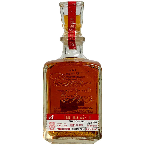 Cava De Oro Anejo Tequila
