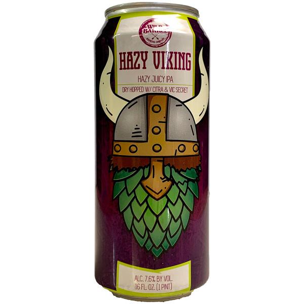 Wild Barrel Hazy Viking Hazy Juicy IPA Can