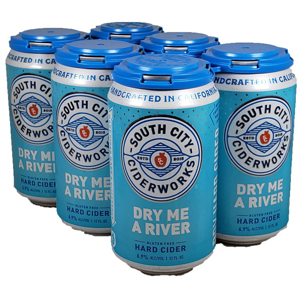 South City Ciderworks Dry Me A River Hard Cider 6-Pack Can