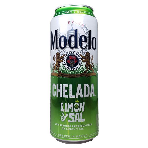Modelo Chelada Limon y Sal 24OZ Can