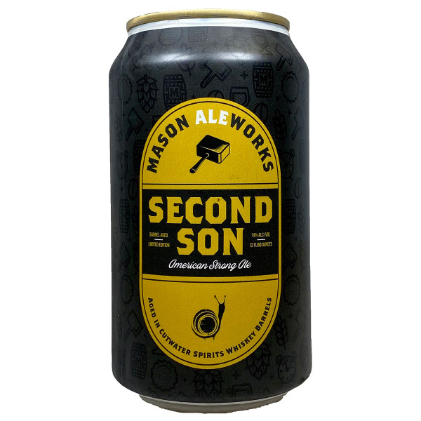 Mason Ale Works Second Son American Strong Ale Can