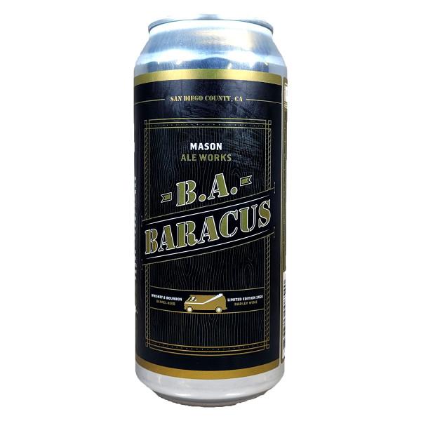 Mason Ale Works B. A. Baracus Barrel Aged Barley Wine Can