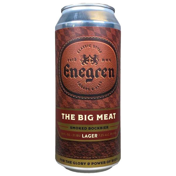 Enegren The Big Meat Smoked Bockbier Can