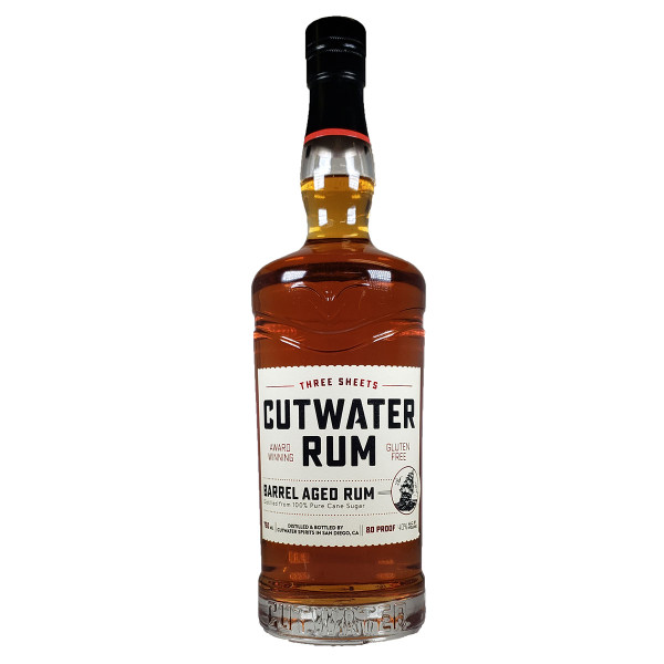 Cutwater Barrel Aged Three Sheets Rum