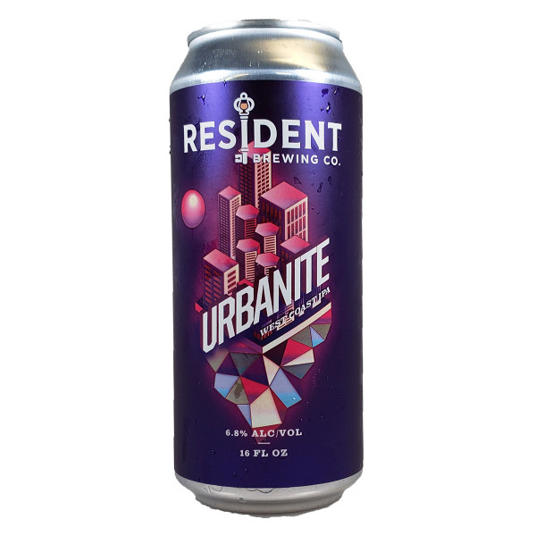 Resident Urbanite West Coast IPA Can