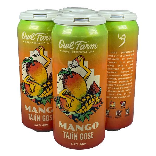 Owl Farm Mango Tajin Gose 4-Pack Can