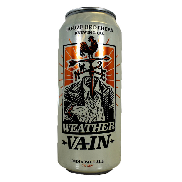Booze Brothers Weather Vain IPA 4-Pack Can