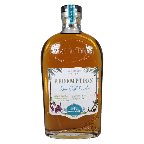 Redemption Rum Cask Finish Cask Series Rye Whiskey