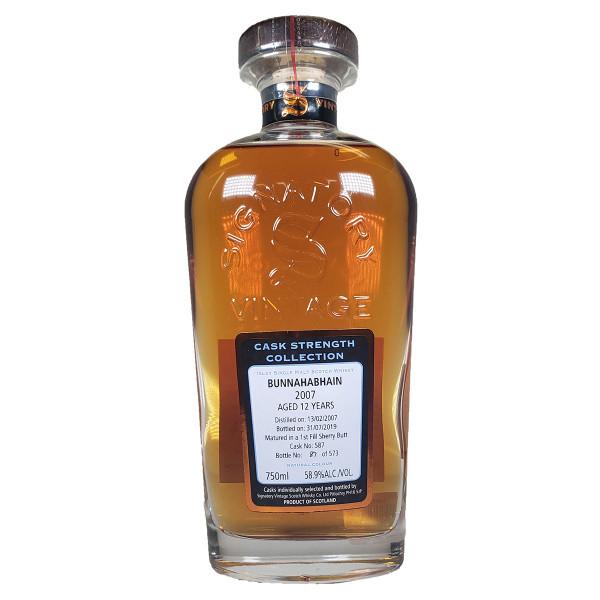 Signatory Bunnahabhain 12 Year Single Malt Whisky