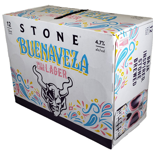 Stone Buenaveza Salt & Lime Lager 12-Pack Can