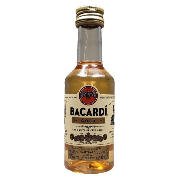 Bacardi Gold Rum 50ML