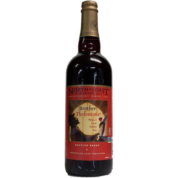 North Coast Brother Thelonious Belgian Style Abbey Ale, 750ml