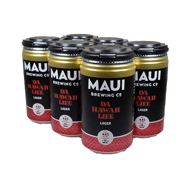 Maui Da HI Life Lager 6-Pack Can