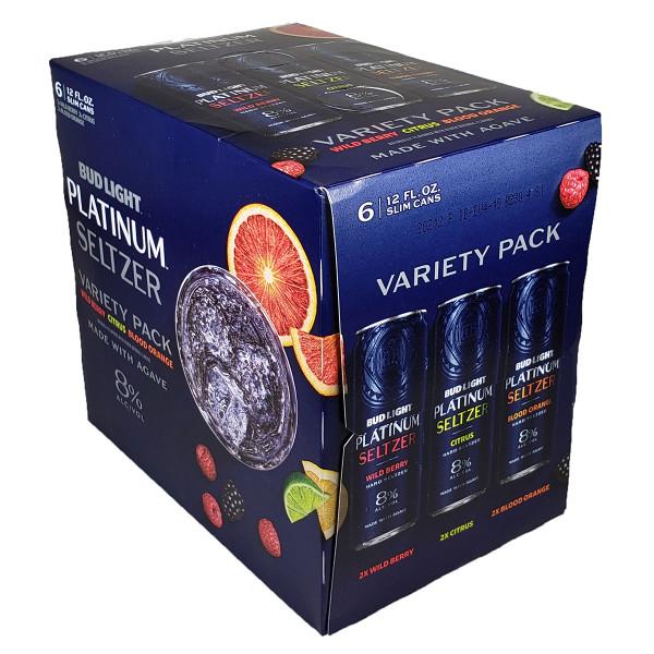 Bud Light Platinum Seltzer Variety 6-Pack Can