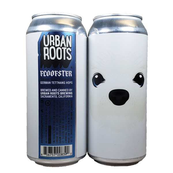 Urban Roots Floofster German Style Wheat Beer Can