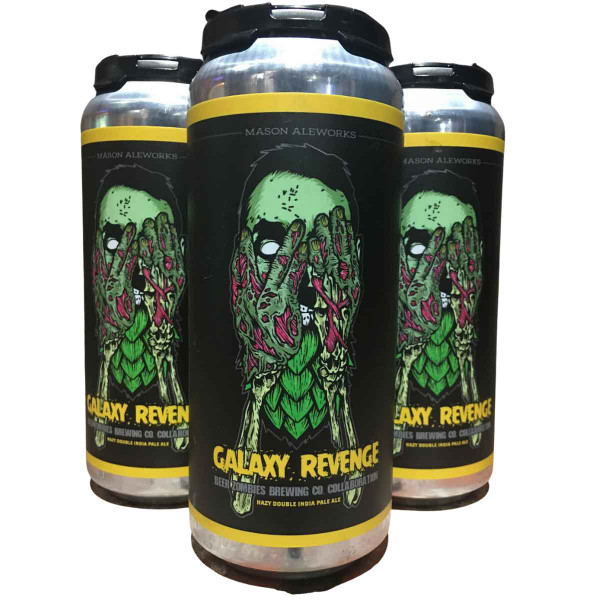 Mason Ale Works / Beer Zombies Galaxy Revenge Hazy Double IPA Can