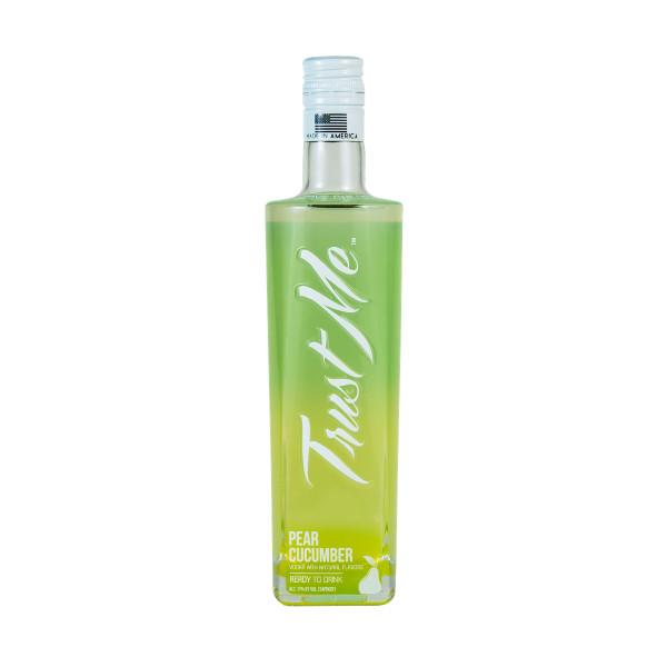 Trust Me Vodka Pear Cucumber Vodka Cocktail Ready-To-Drink 375ML