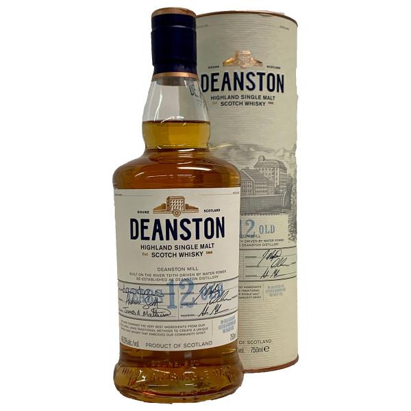 Deanston 12 Year Single Malt Highland Scotch Whisky